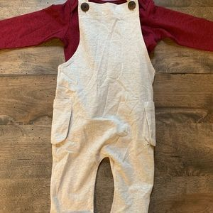 NWT! Top is Me&Henry, overalls are Milkbarn.